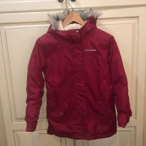 Columbia parka jacket